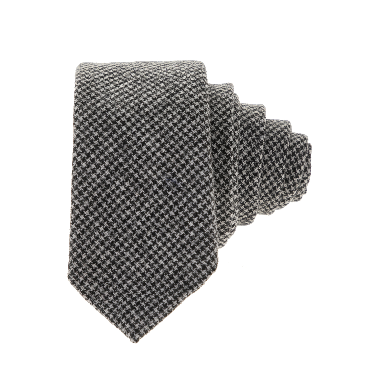 HAMAKI – Ανδρική γραβάτα HAMAKI μαύρη-γκρι