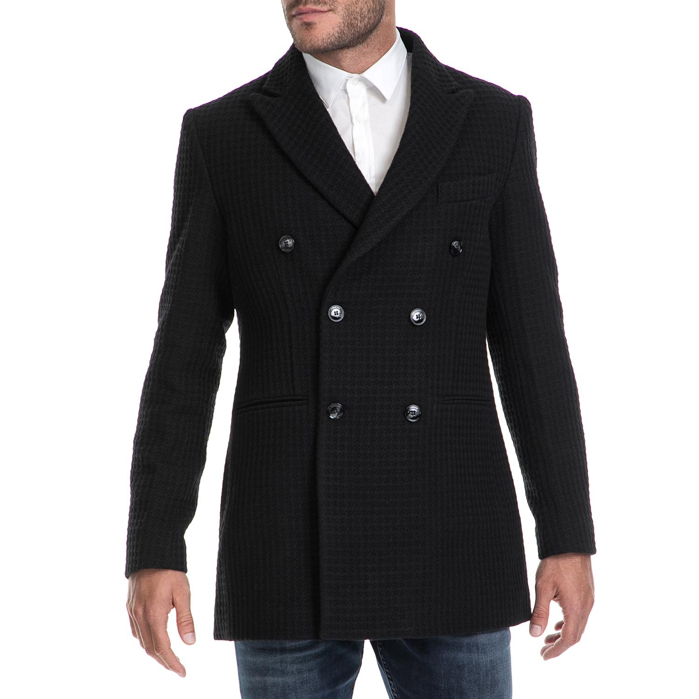 HAMAKI – Ανδρικό παλτό CAPPOTTO HAMAKI μαύρο