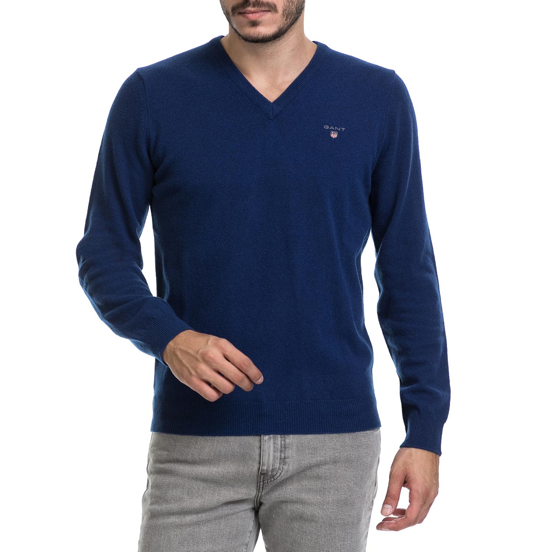 GANT – Ανδρικό πουλόβερ GANT μπλε