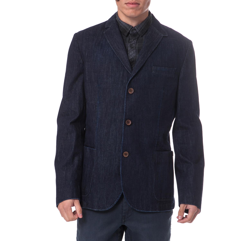 GARCIA JEANS – Ανδρικό σακάκι Garcia Jeans μπλε