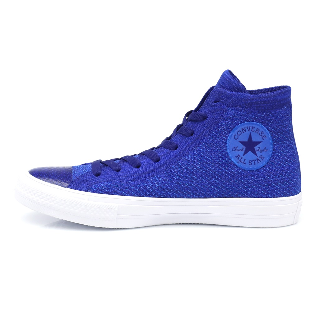 CONVERSE – Unisex παπούτσια Chuck Taylor All Star NIKE FLYKNIT HI μπλε