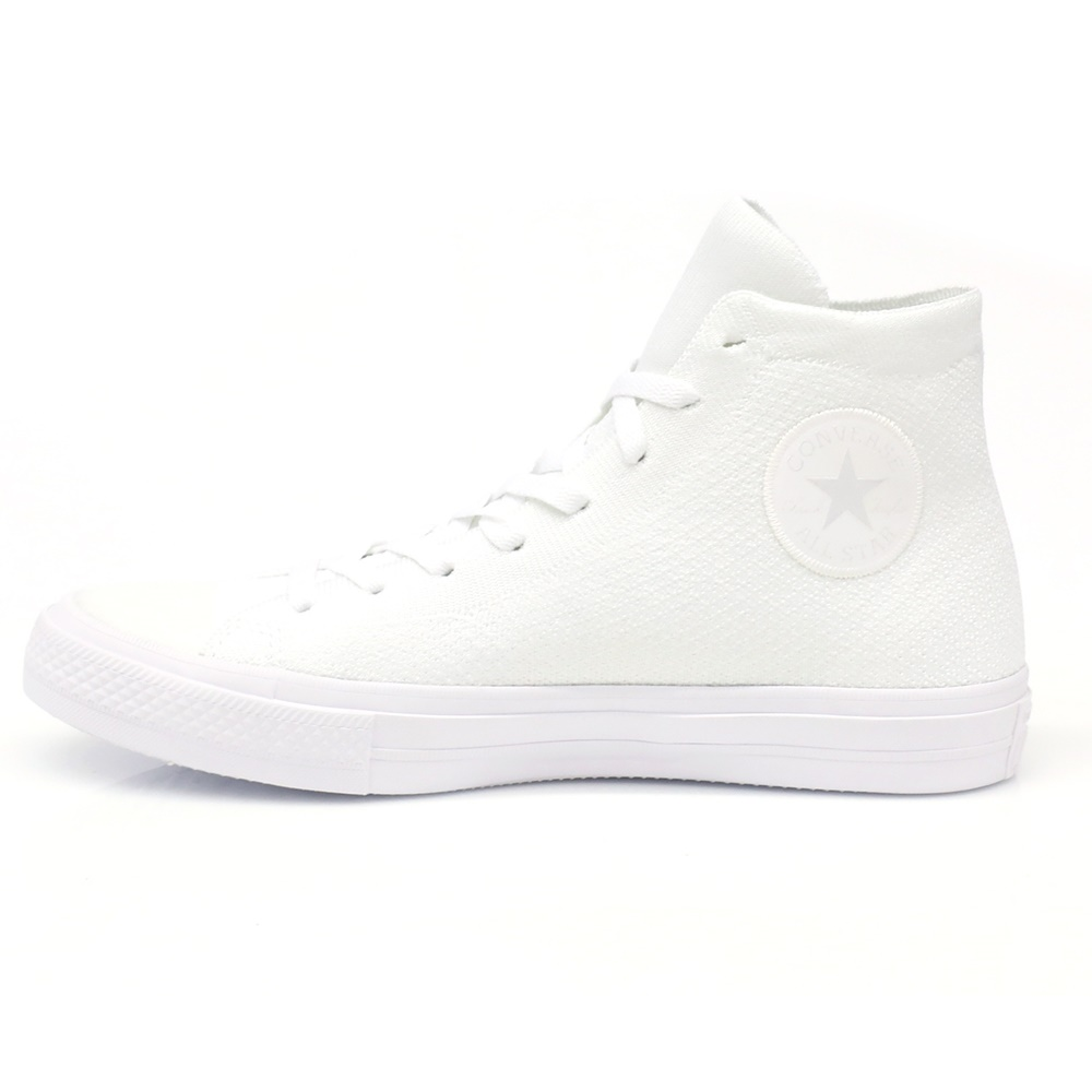 CONVERSE – Unisex παπούτσια Chuck Taylor All Star NIKE FLYKNIT HI λευκά
