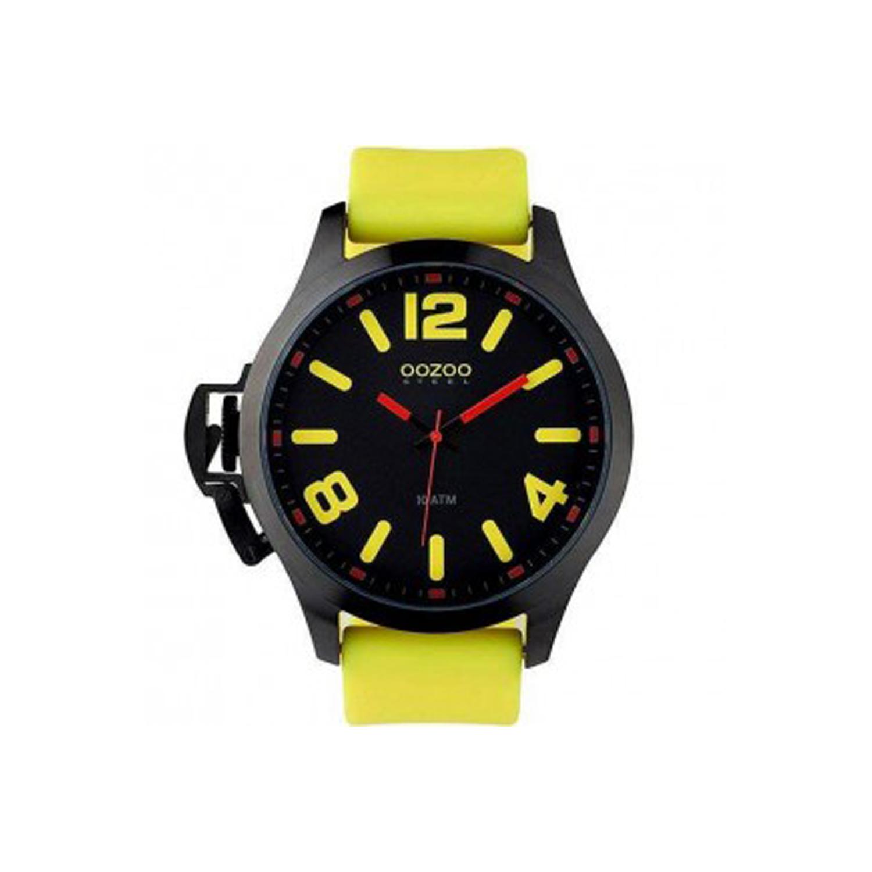OOZOO – Ρολόι OOZOO κίτρινο