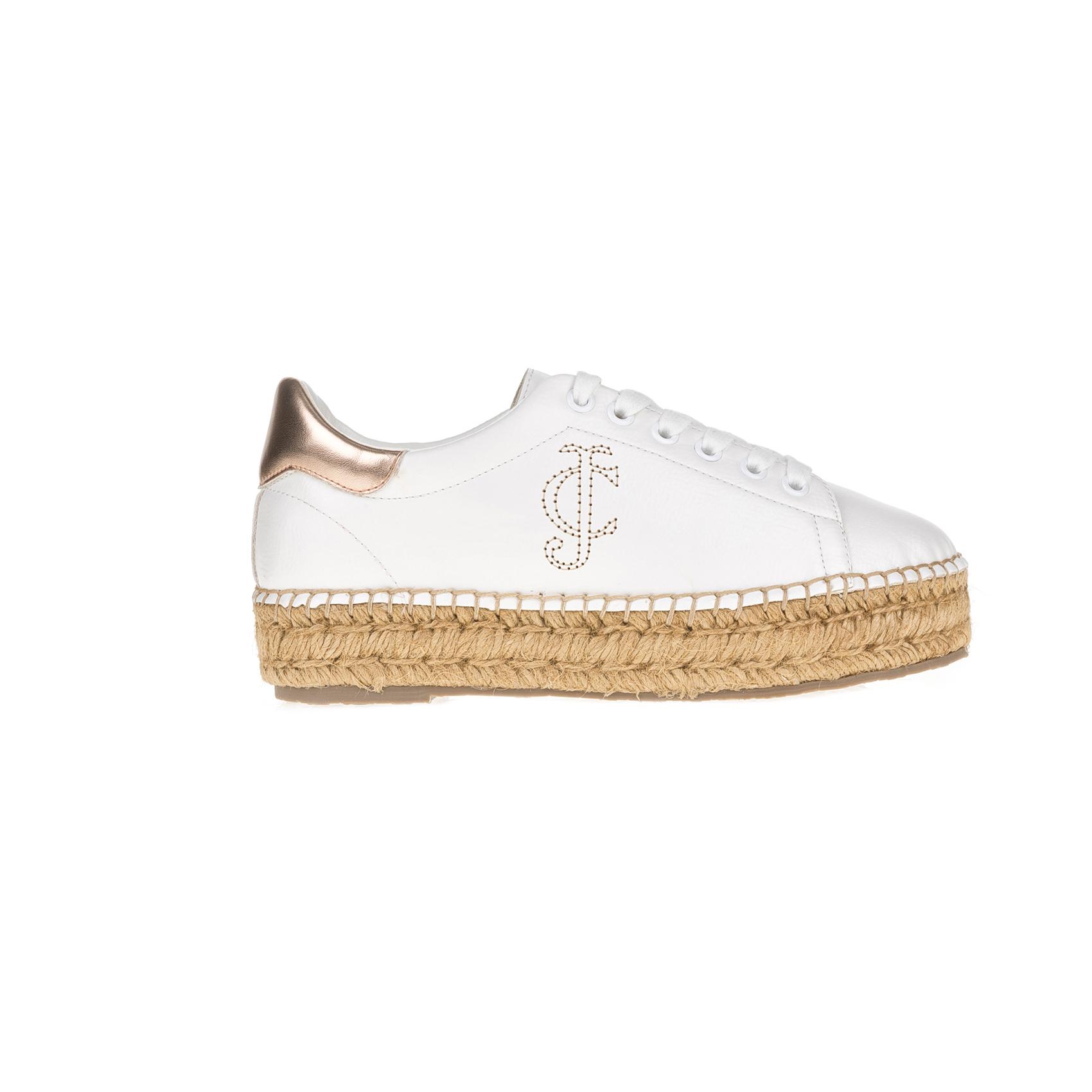 JUICY COUTURE – Γυναικεία παπούτσια JUICY COUTURE PRETTY λευκά