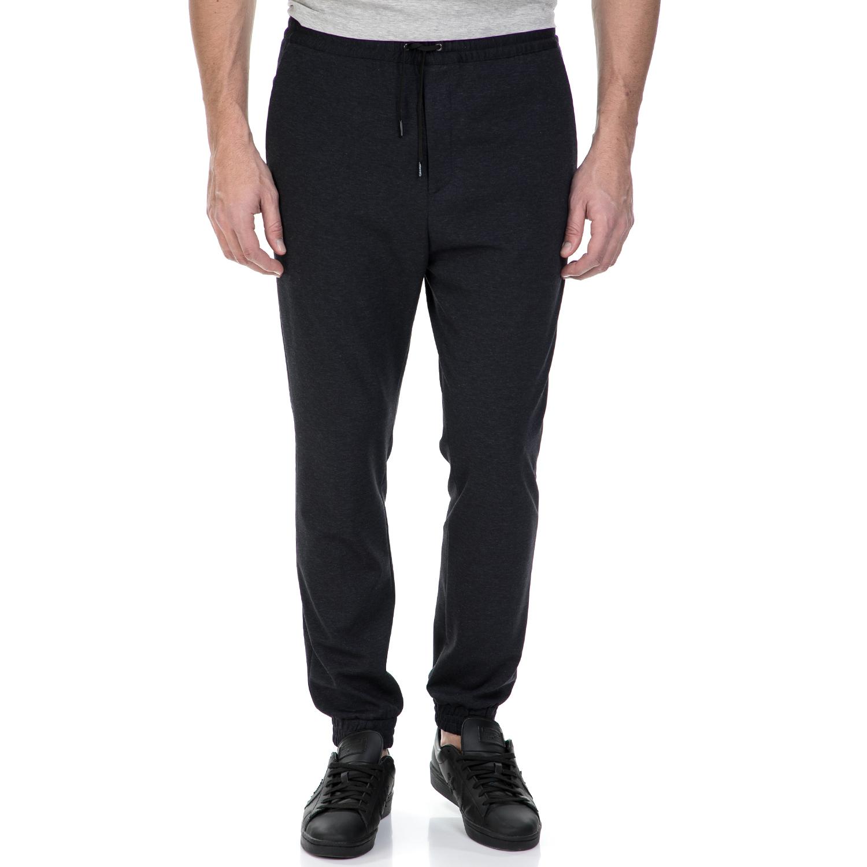 CK - Ανδρικό παντελόνι φόρμας CK μαύρο ανδρικά ρούχα αθλητικά φόρμες
