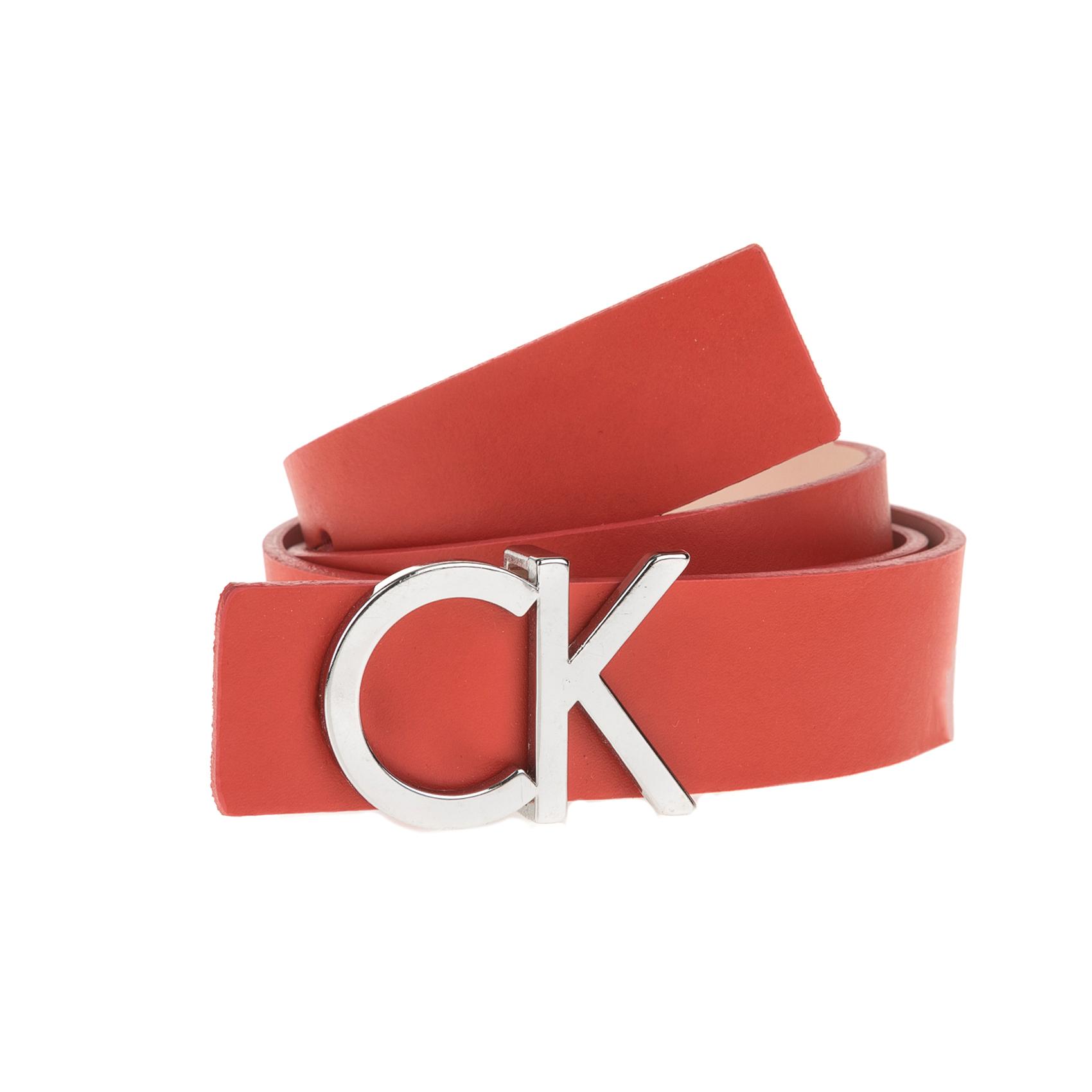 CALVIN KLEIN JEANS – Γυναικεία ζώνη Calvin Klein Jeans κόκκινη