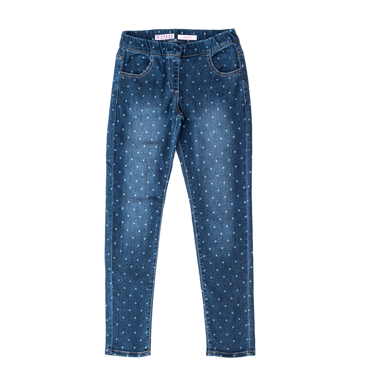 bbce05bfb48 GUESS KIDS - Παιδικό τζιν παντελόνι GUESS KIDS SLIM FIT μπλε