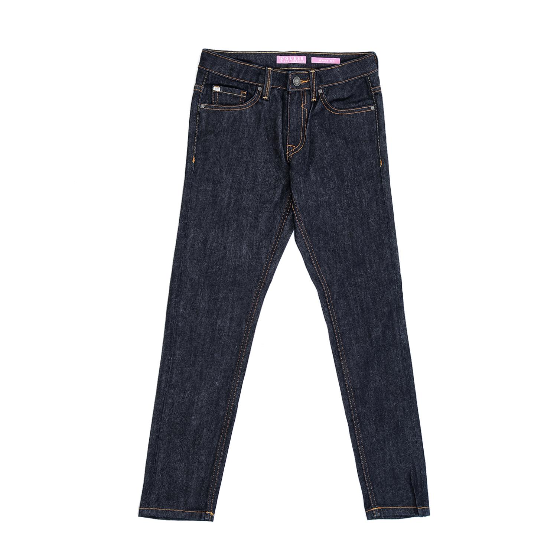 GUESS KIDS – Παιδικό τζιν παντελόνι GUESS KIDS SLIM FIT μπλε