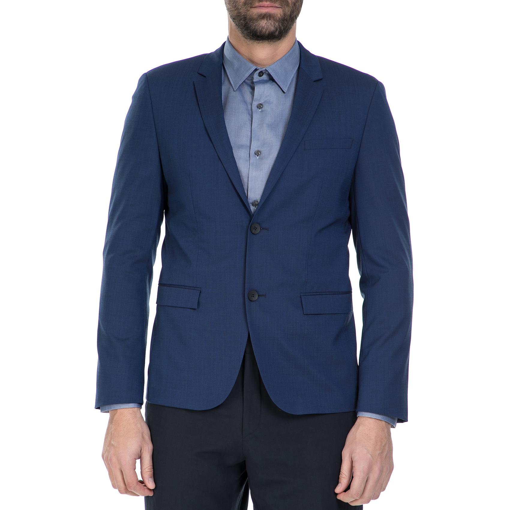 CK – Ανδρικό σακάκι CK μπλε