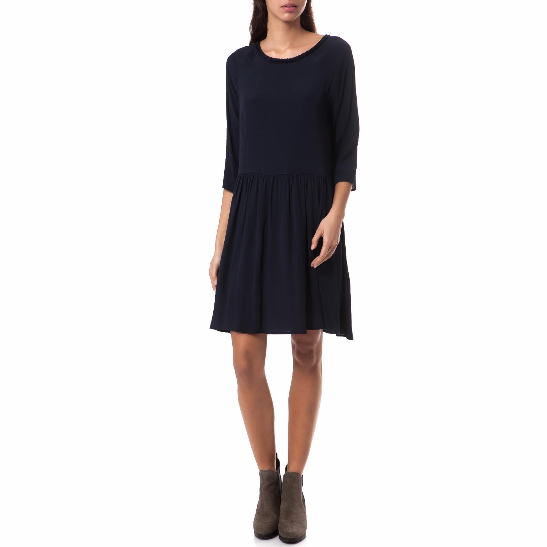 MOTIVI - Γυναικείο φόρεμα MOTIVI μπλε γυναικεία ρούχα φορέματα μίνι