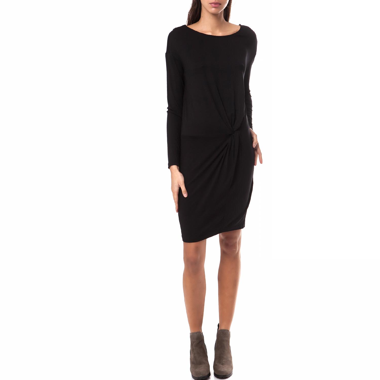 MOTIVI - Γυναικείο φόρεμα MOTIVI μαύρο γυναικεία ρούχα φορέματα μίνι