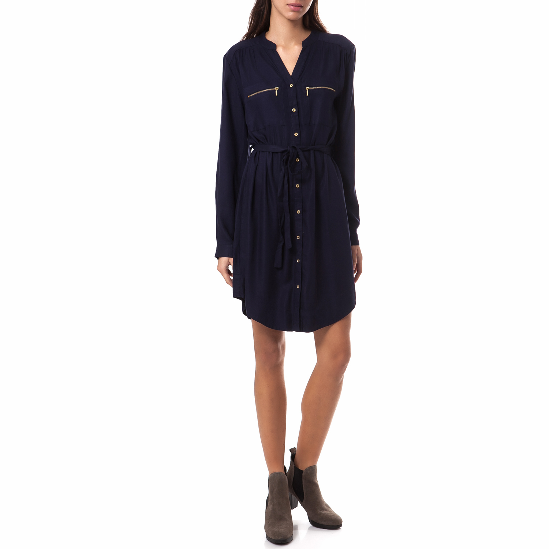 OLTRE - Γυναικείο φόρεμα OLTRE μπλε γυναικεία ρούχα φορέματα μίνι