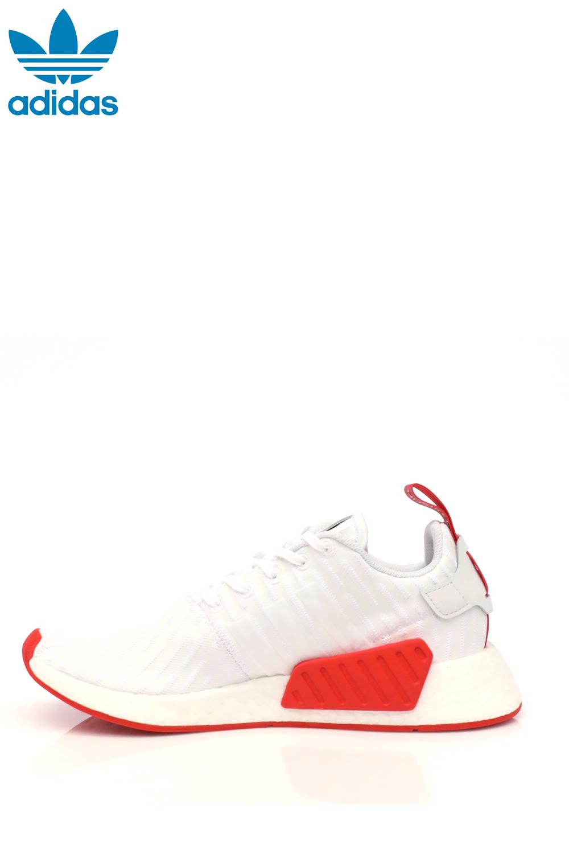 adidas – Ανδρικά παπούτσια adidas NMD_R2 λευκά-κόκκινα