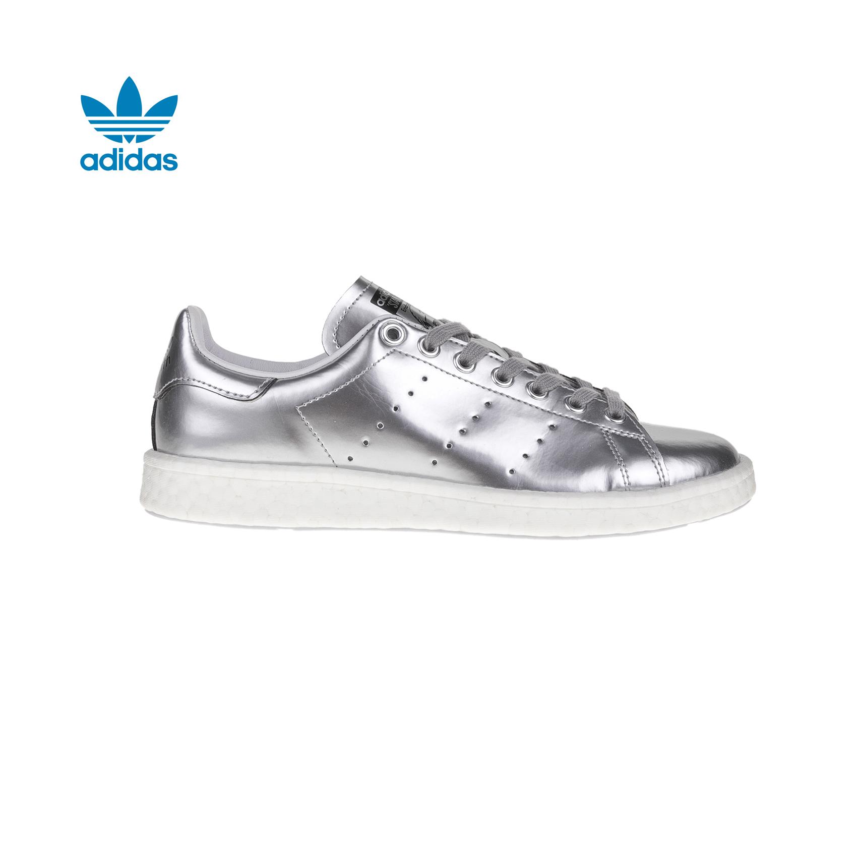adidas Originals – Γυναικεία sneakers adidas STAN SMITH ασημί