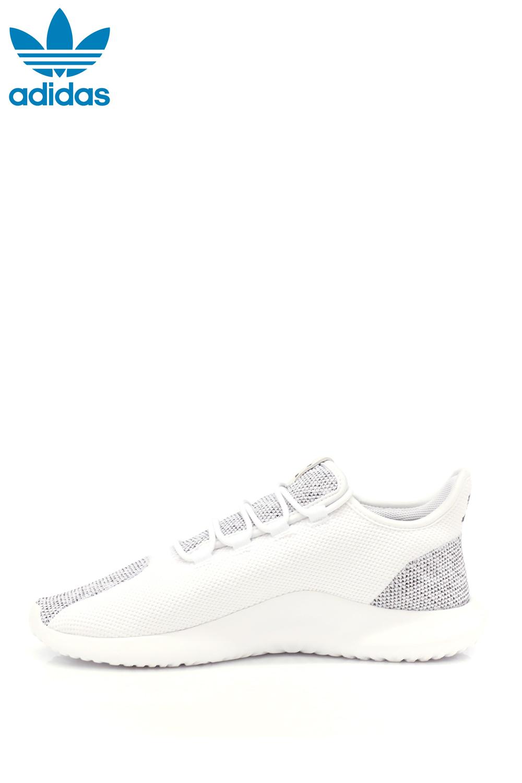 adidas - Ανδρικά παπούτσια adidas TUBULAR SHADOW KNIT λευκά-γκρι ανδρικά παπούτσια sneakers