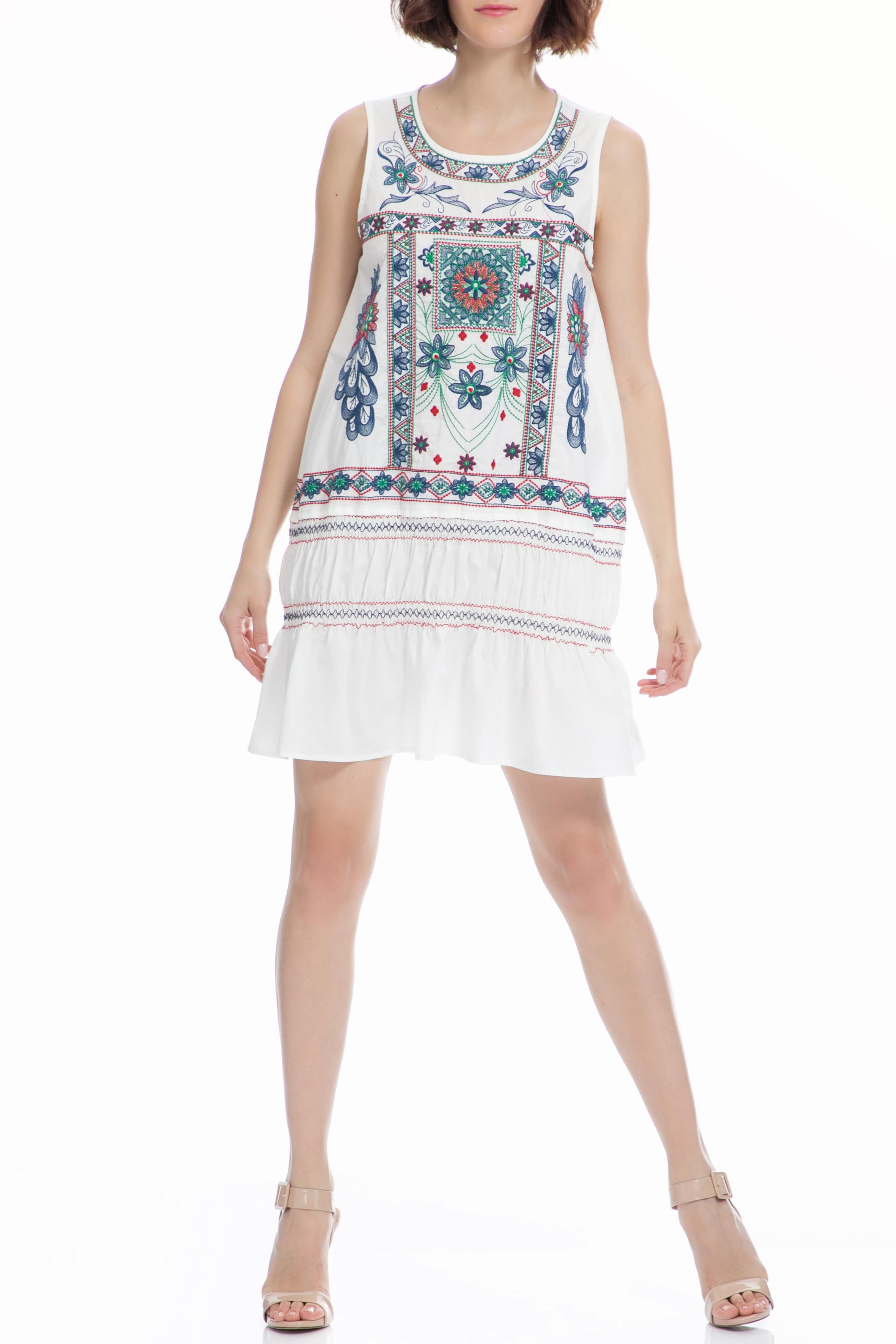 MOLLY BRACKEN - Φόρεμα MOLLY BRACKEN λευκό γυναικεία ρούχα φορέματα μίνι