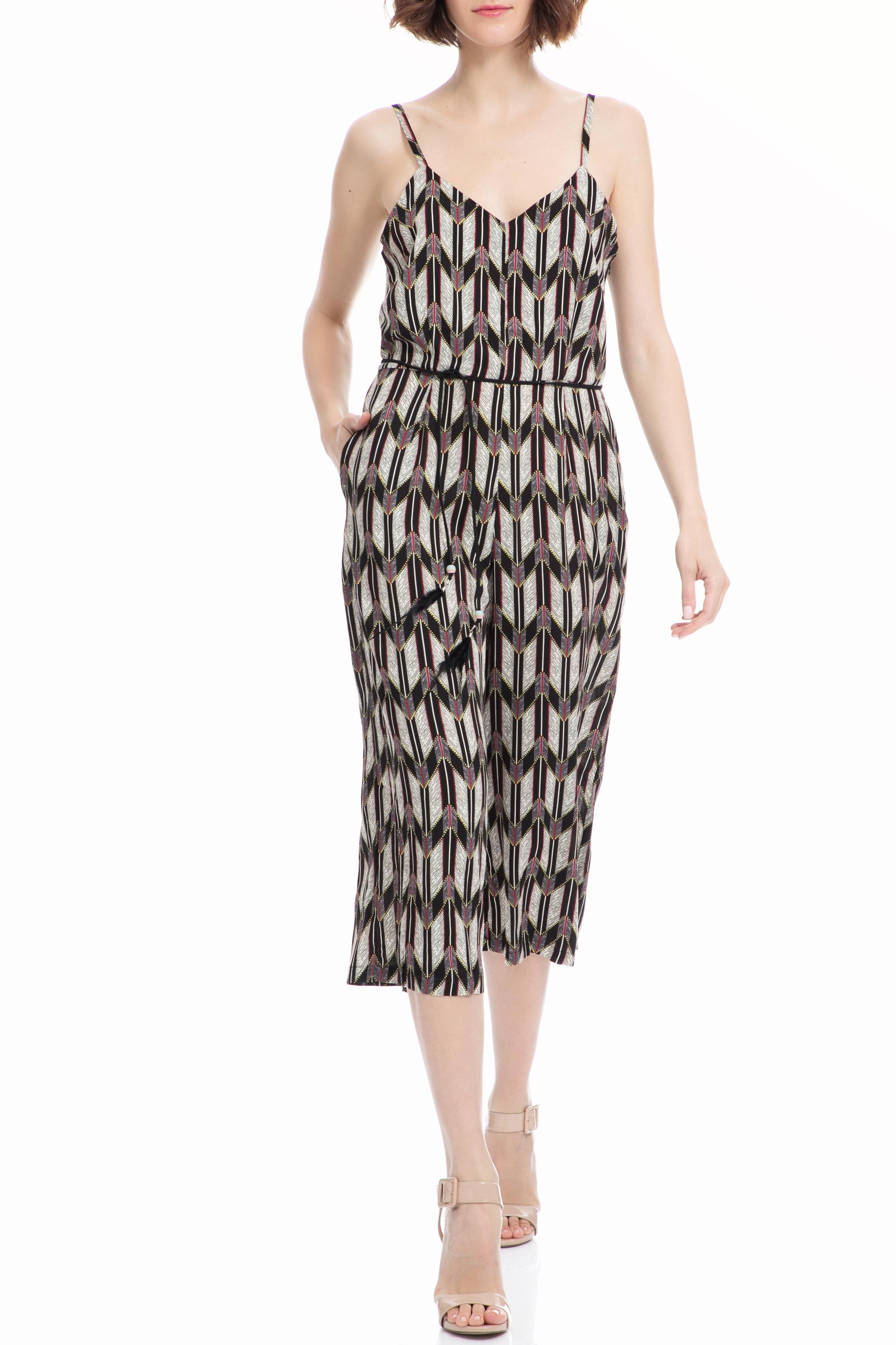 MOLLY BRACKEN – Ολόσωμη φόρμα MOLLY BRACKEN μαύρη-εκρού