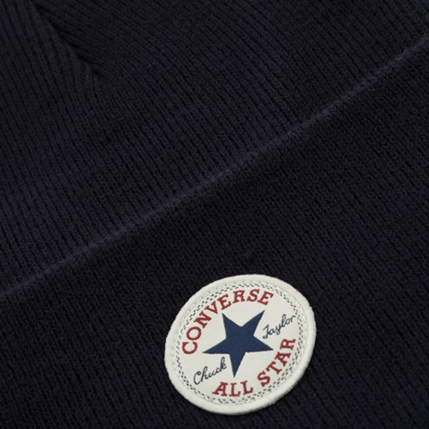 CONVERSE-Unisex σκούφος CONVERSE THERMAL 2-IN-1 μπλε