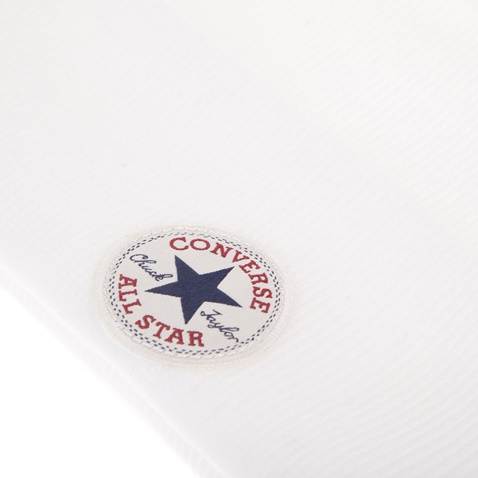 CONVERSE-Unisex σκούφος CONVERSE TALL CUFF WATCHCAP λευκός