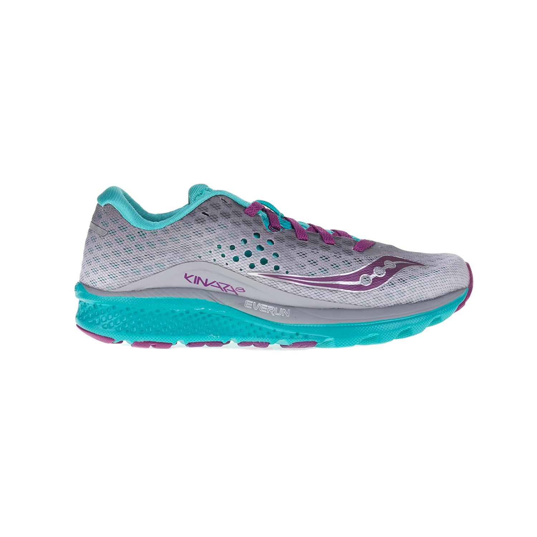 SAUCONY – Γυναικεία αθλητικά παπούτσια Saucony KINVARA 8 γκρι -μοβ