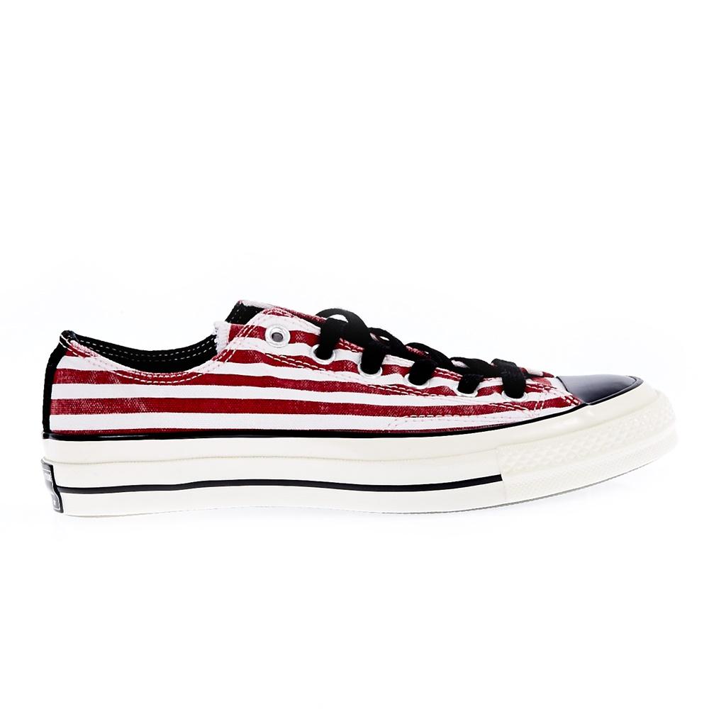 CONVERSE - Unisex παπούτσια CT 70 PEACE PRINT OX κόκκινα μπλε ανδρικά παπούτσια sneakers