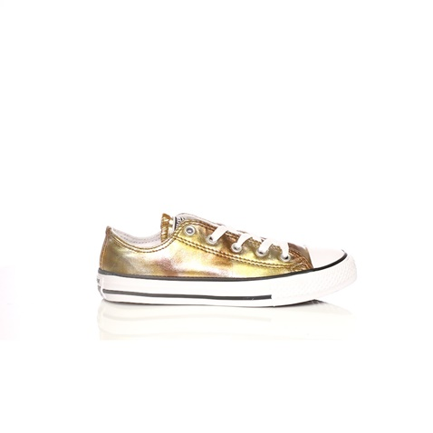 CONVERSE-Παιδικά sneakers Converse Chuck Taylor All Star Ox χρυσά μεταλλικά