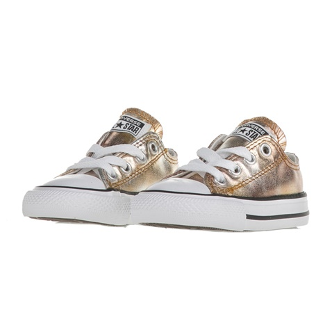CONVERSE-Βρεφικά sneakers CONVERSE Chuck Taylor All Star Ox χρυσά