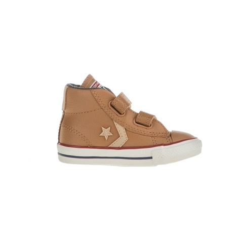 CONVERSE-Βρεφικά μποτάκια CONVERSE Star Player EV V Mid καφέ