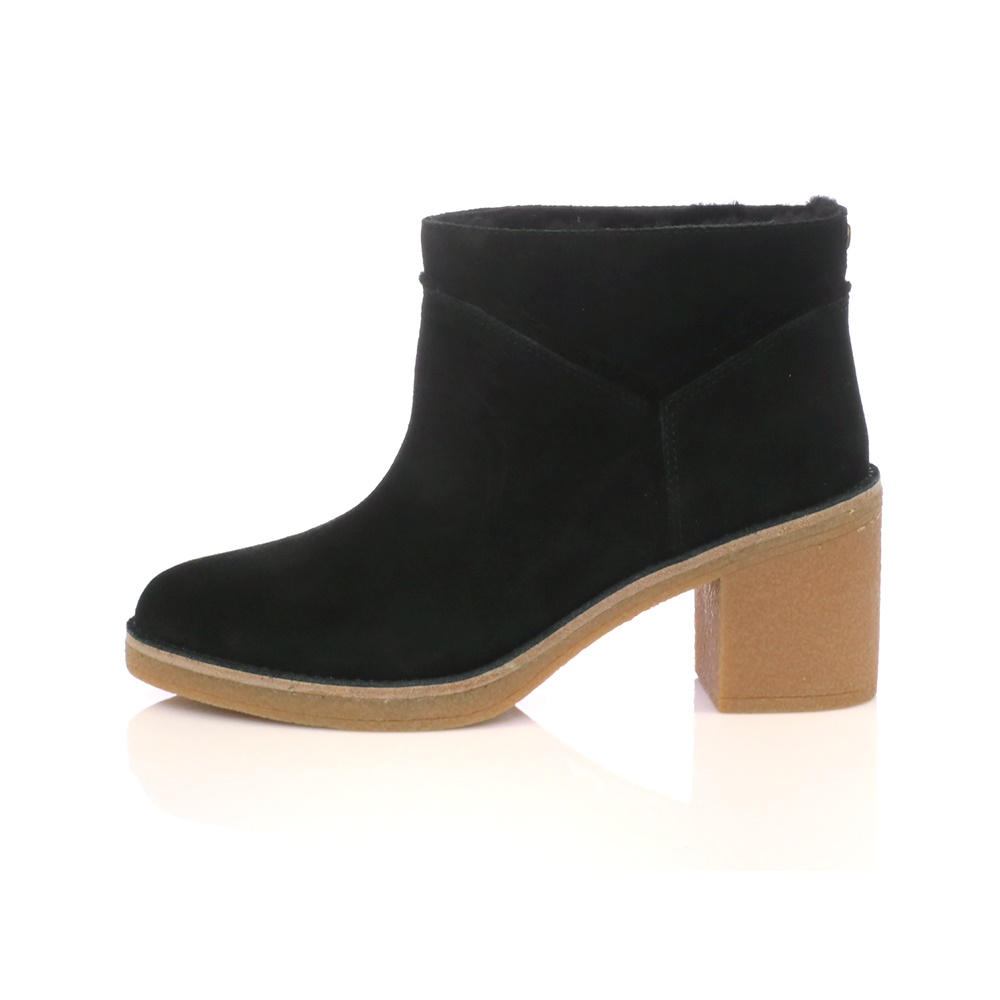 UGG - Γυναικεία μποτάκια KASEN UGG AUSTRALIA μαύρα γυναικεία παπούτσια μπότες μποτάκια