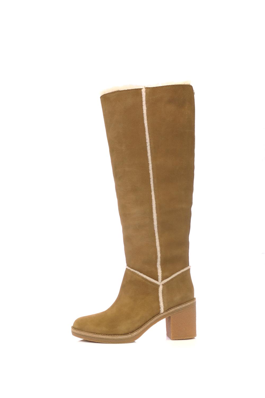 UGG – Γυναικείες μπότες KASEN TALL UGG καφέ