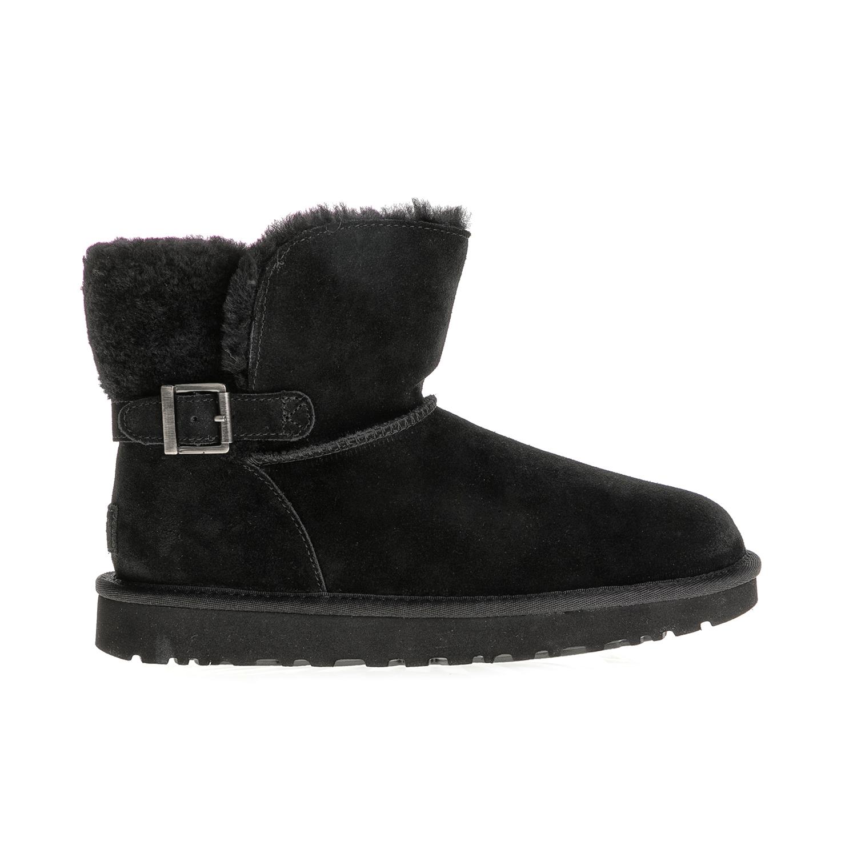 UGG AUSTRALIA - Γυναικεία μποτάκια KAREL UGG AUSTRALIA μαύρα γυναικεία παπούτσια μπότες μποτάκια μποτάκια