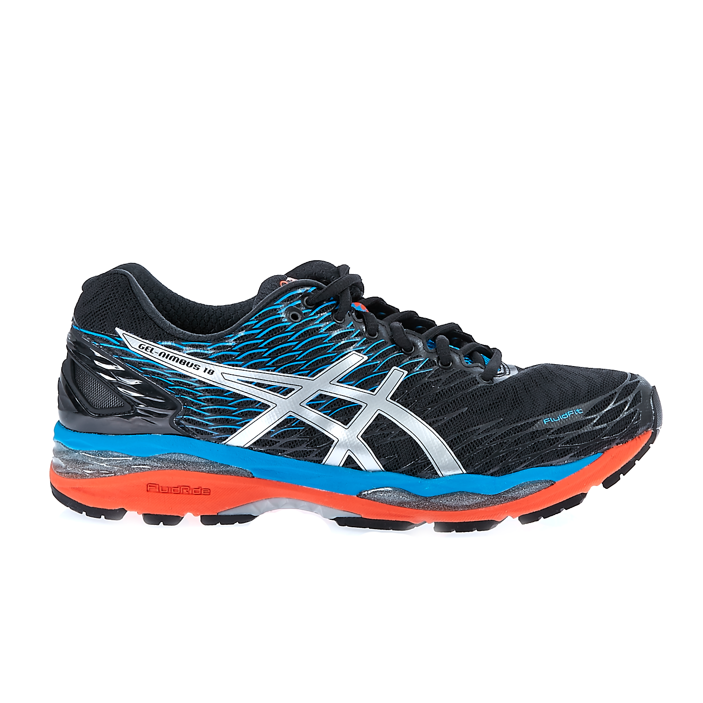 ASICS - Ανδρικά παπούτσια ASICS GEL-NIMBUS 18 μαύρα-μπλε ανδρικά παπούτσια αθλητικά running