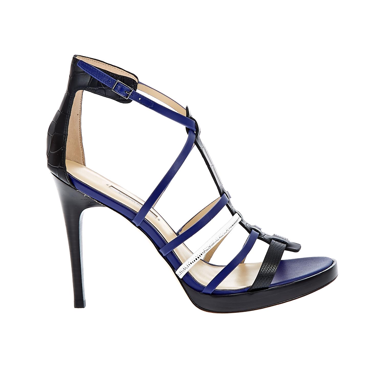 CALVIN KLEIN JEANS – Γυναικεία πέδιλα Calvin Klein Jeans μαύρα-μπλε