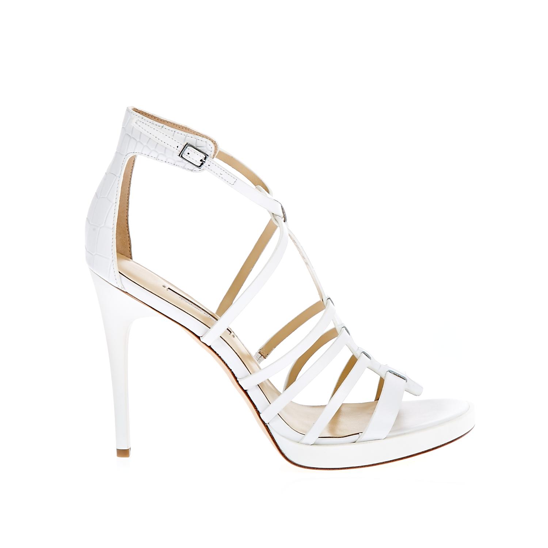 CALVIN KLEIN JEANS – Γυναικεία πέδιλα Calvin Klein Jeans λευκά