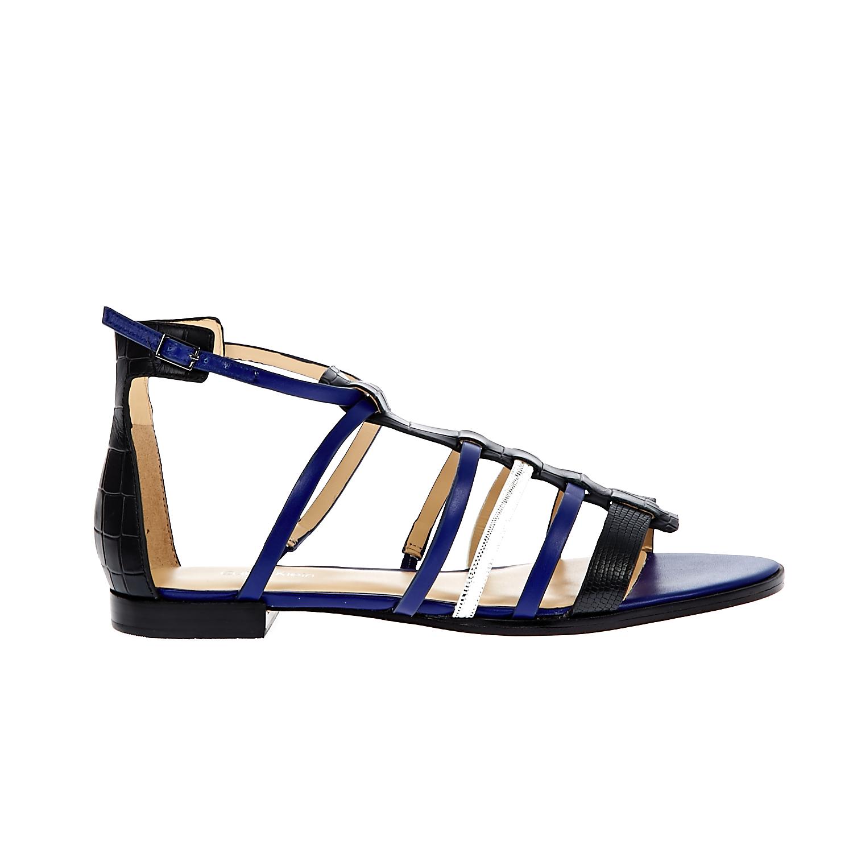 CALVIN KLEIN JEANS – Γυναικεία σανδάλια Calvin Klein Jeans μαύρα-μπλε