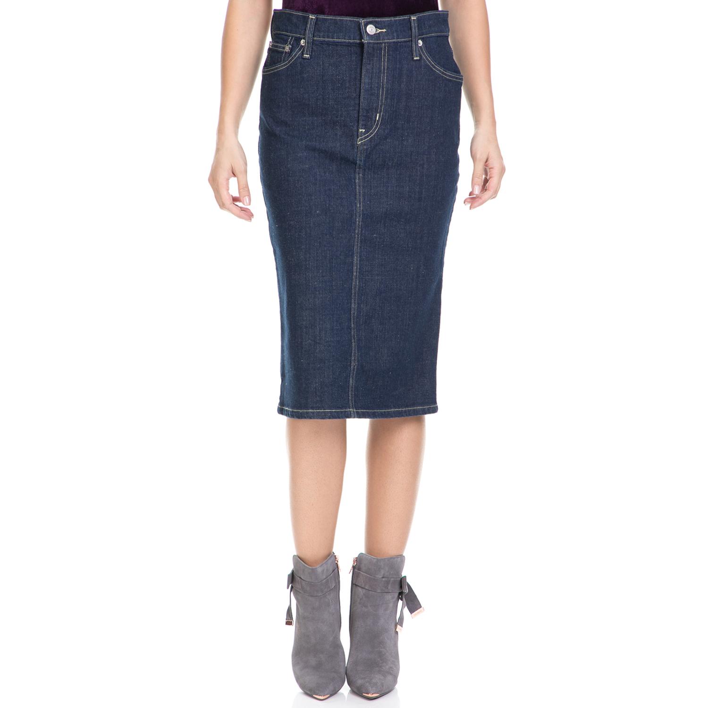 LEVI'S – Γυναικεία τζιν φούστα MIDI PENCIL SKIRT LEVI'S μπλε