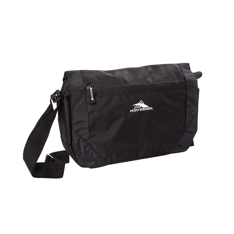 HIGH SIERRA (TRAVEL) – Τσάντα ταχυδρόμου HIGH SIERRA VENADO μαύρη