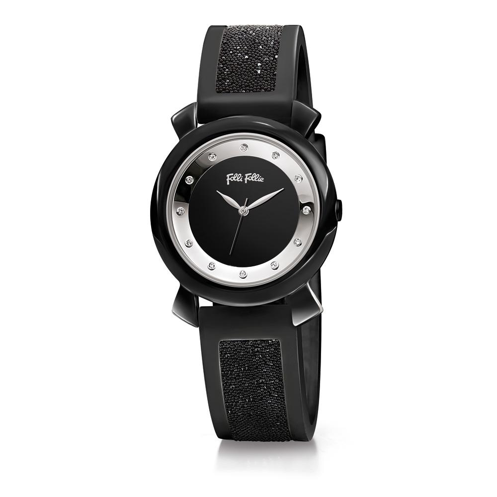92f46a6876 FOLLI FOLLIE - Γυναικείο ρολόι Folli Follie μαύρο