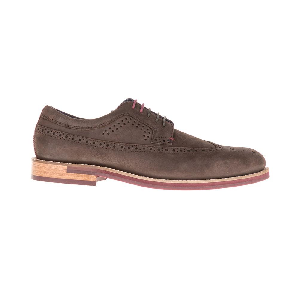 TED BAKER - Ανδρικά παπούτσια FANNGO TED BAKER καφέ ανδρικά παπούτσια μοκασίνια loafers