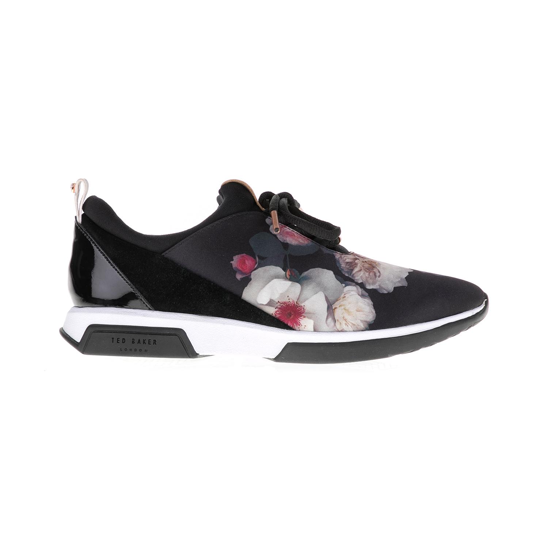 TED BAKER – Γυναικεία sneakers CEPAP TED BAKER μαύρα-εμπριμέ