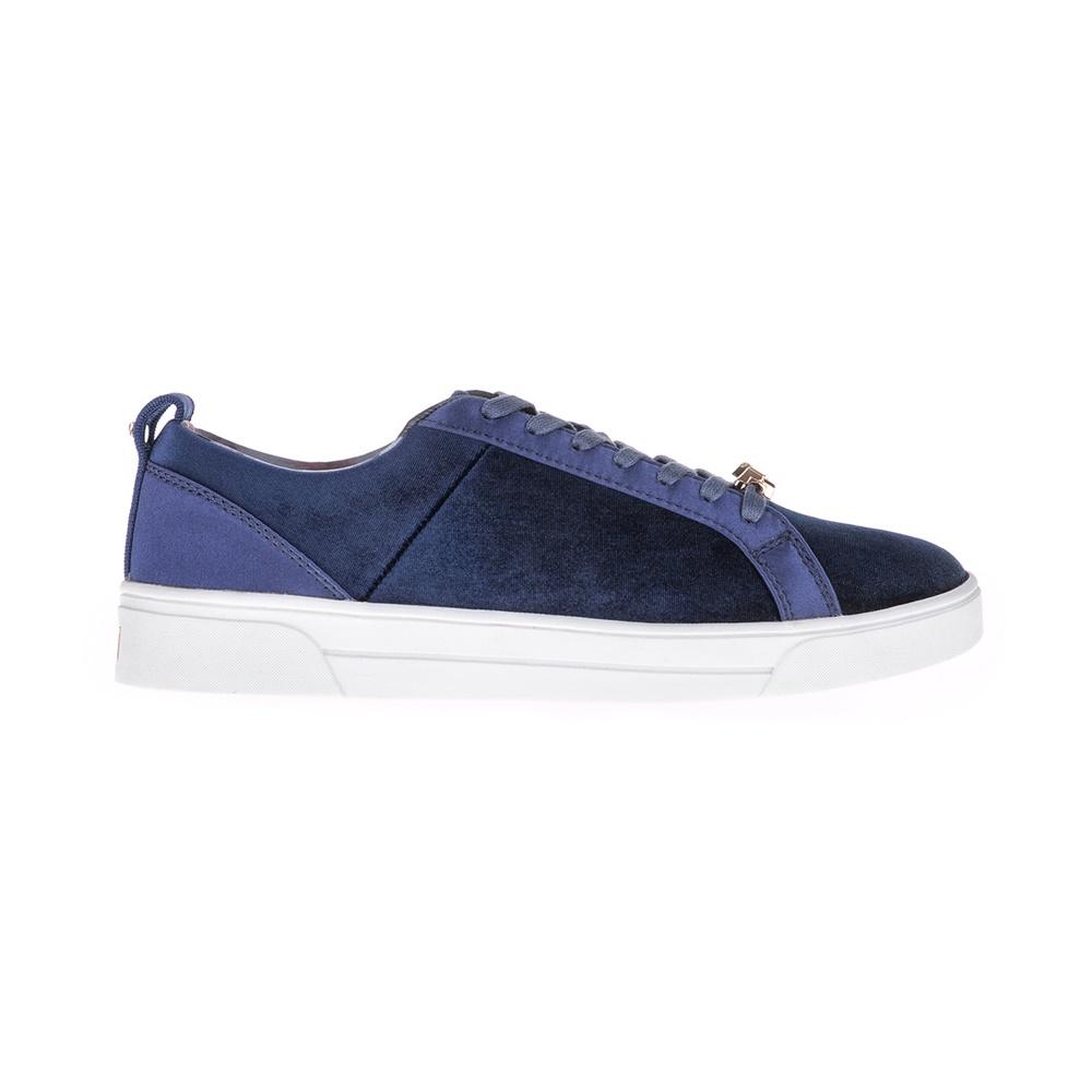 TED BAKER – Γυναικεία βελούδινα sneakers KULEI Ted Baker μπλε