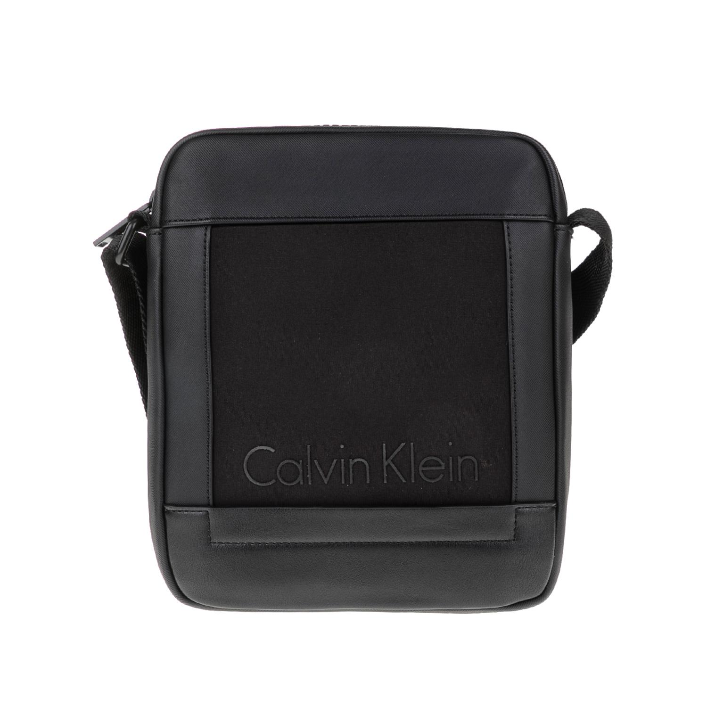 CALVIN KLEIN JEANS – Ανδρική τσάντα CAILLOU REPORTER μαύρη