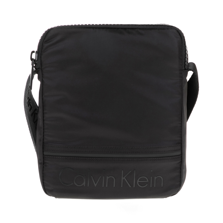 CALVIN KLEIN JEANS – Ανδρική τσάντα MATTHEW REPORTER μαύρη