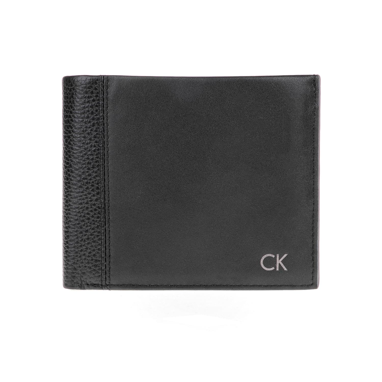 CALVIN KLEIN JEANS – Ανδρικό πορτοφόλι NATHAN 10CC μαύρο