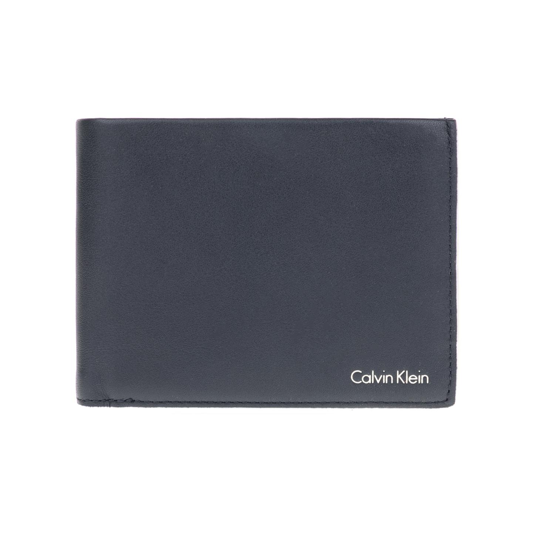 CALVIN KLEIN JEANS – Ανδρικό πορτοφόλι CABRAL 5CC+COIN μπλε