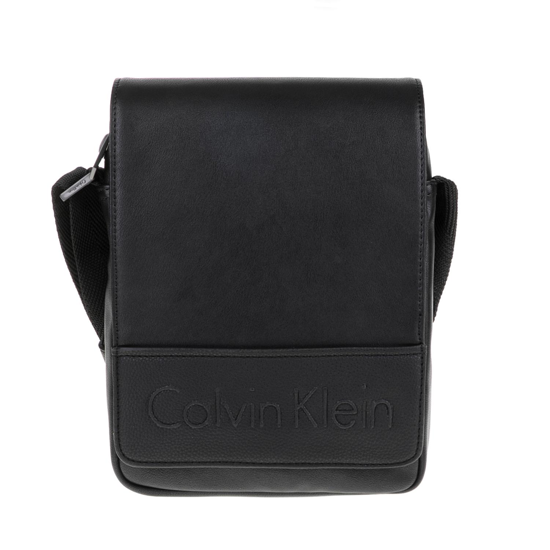 Ανδρικά   Αξεσουάρ   Τσάντες   Ωμου   CALVIN KLEIN JEANS - Ανδρική τσάντα  BENNET REPORTER μαύρη - GoldenShopping.gr a06b8cf40c7