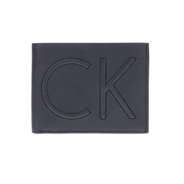 CALVIN KLEIN JEANS – Ανδρικό πορτοφόλι FILIP 5CC μπλε