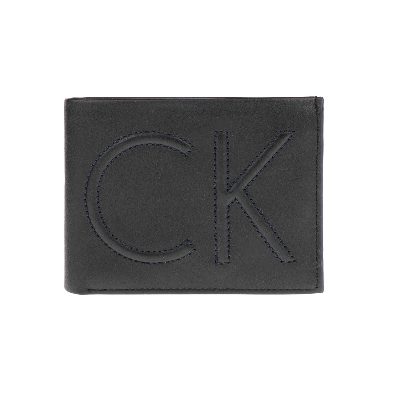 CALVIN KLEIN JEANS – Ανδρικό πορτοφόλι FILIP 5CC μαύρο