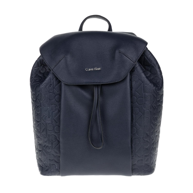 CALVIN KLEIN JEANS – Γυναικεία τσάντα πλάτης MISHA CALVIN KLEIN JEANS μπλε 1564325.0-0010