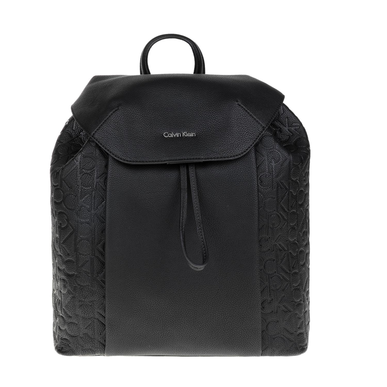 CALVIN KLEIN JEANS – Γυναικεία τσάντα πλάτης MISHA CALVIN KLEIN JEANS μαύρη